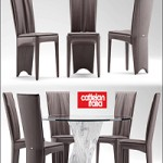 Table and Chair 9 Maxbrute Cattelan Italia AURELIA