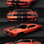 Dodge Challenger SRT Hellcat Go Mang 3D Model
