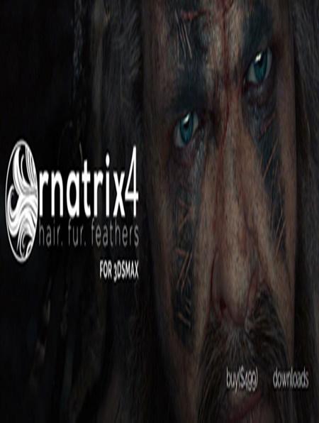 Ornatrix 4 4 0 7495 for 3ds Max 2011-2017