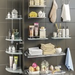 Accessories and cosmetics for the bath + Axentia shelves, Bemeta set 2