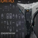 Hard Surface Detail Alpha Pack