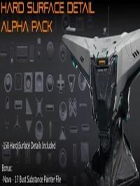 Hard Surface Detail Alpha Pack