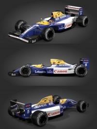 F1 Williams FW14 (Mansell, Patrese & Bonus Senna/FW16 texture) - Rigged