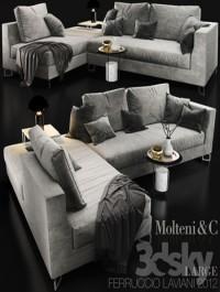 Sofa Molteni c LARGE