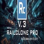 RailClone Pro 3.0.7 3ds Max 2014 – 2017