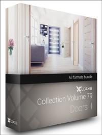 CGAXIS MODELS VOLUME 79 DOORS II (C4D, C4D Vray)