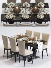 CB Clayton Armchair Winnetka Table