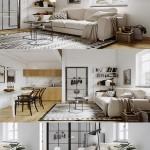 Modern Living Room 02 Interior Scene