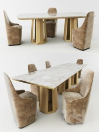 Casamilano KANDINSKY table and chairs CHARLOTTE