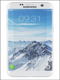 Galaxy S7 Edge White 3d Model
