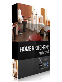 CGAxis Models Volume 20 Home & Kitchen Appliances