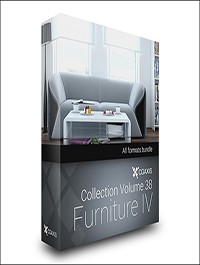 CGAxis Models Volume 38 Furniture IV