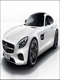 Mercedes AMG GT 2012 2015 3D Models