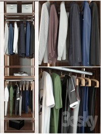 Wardrobe VENERE Capital collection segment A men's clothing