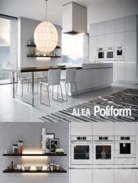 Kitchen Poliform Varenna Alea 3 (vray GGX, corona PBR)