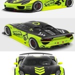 Porsche 918 Spyder Chimera One Concept 3D Model