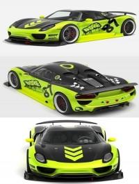 Porsche 918 Spyder Chimera One Concept 3D Model