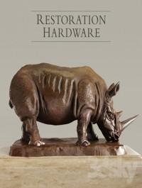 RH Bronze Rhino