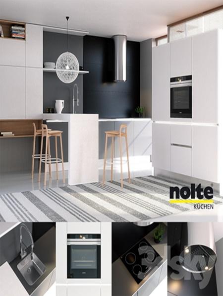 kitchen nolte glas tec satin sigma lack vray ggx corona pbr. Black Bedroom Furniture Sets. Home Design Ideas