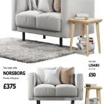 Sofa Ikea Norsborg 1