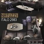 Sofa NATUZZI Italo 2983
