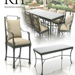 Restoration Hardware Antibes Collection (Weathered Zinc)