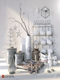 set Scandinavian decor 01