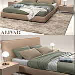 Bed Alivar Suite
