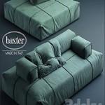 Sofa baxter PANAMA BOLD MODULAR SOFA