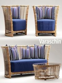 Garden furniture varaschin tonkino