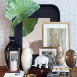 Decoration set Alocasia calidora