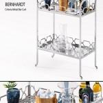 Bernhardt Criteria Metal Bar Cart