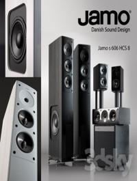 Speaker set Jamo S606 + 206 sub