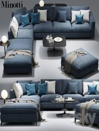 Minotti Andersen sofa CLYFFORD Modular sofa