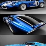 Shelby 1965 Cobra Daytona Coupe 3D Model