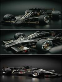 Lotus 78 Formula 3D Model