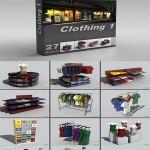 DigitalXModels 3D Model Collection Volume 11: CLOTHING 1