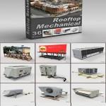 DigitalXModels 3D Model Collection Volume 13 ROOFTOP MECHANICAL