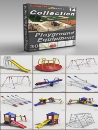 DigitalXModels 3D Model Collection Volume 14 PLAYGROUND