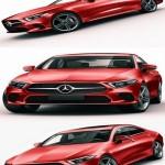 Mercedes-Benz CLS 2018 3D model