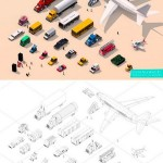 CM Low Poly City Cars Vehicles Pack 1550794