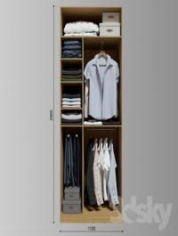 Wardrobe clothes