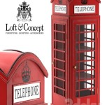 SHOWCASE LONDON TELEPHONE BOX