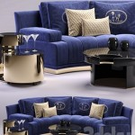 Fendi Artu Round Sectional Sofa