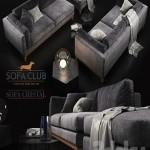 Sofa Cristal Sofa Club modular