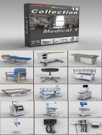 DigitalXModels 3D Model Collection Volume 18 MEDICAL 1