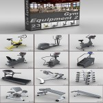 DigitalXModels – 3D Model Collection – Volume 20: GYM EQUIPMENT 2
