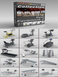 DigitalXModels - 3D Model Collection - Volume 20: GYM EQUIPMENT 2
