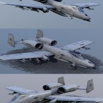 A-10 Thunderbolt Attack Aircraft