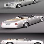 Rolls-Royce Phantom Drophead Coupe 2013 3D Model